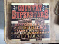 Readers Digest Vinyl / Records / LPs : 'Country Superstars'