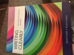 Writing clearly grammar for editing third edition