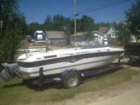 Reinell Fish n Ski Boat ONLY 75.8 HOURS