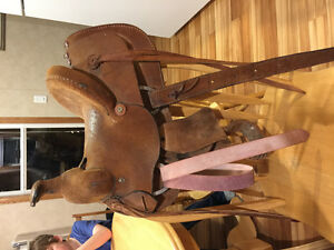 Children's saddle