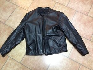 Black Motorcycle Hondaline leather jacket