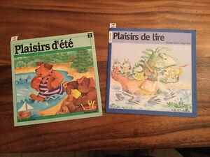 """Deux livres pour enfant """" Plaisirs """""""
