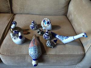 Vintage Mexican Ceramic Figurines
