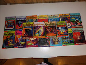 Collection of 18 Goosebumps Books