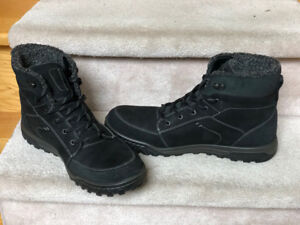 ECCO Mens Winter Boots Ontario Urban Lifestyle Lace-Up Size 45