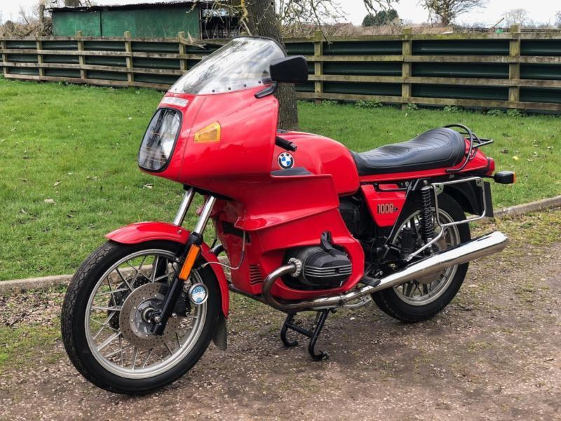Bmw R100rs 1981 In Fantastic Condition Classic German Motocycle