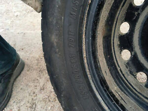 """13"""" Summer Tires for sale- On rims"""