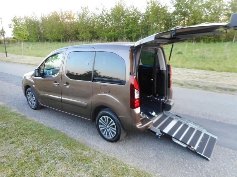 2014 Peugeot Partner Tepee 1.6 Hdi Automatic Only 10K WHEELCHAIR ACCESSIBLE WAV
