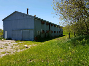 Large barn for rent individual storage available