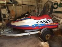 Jetski project trailer included
