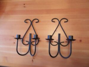 CANDLE HOLDERS - METAL - LOT # 2 - REDUCED!!!!