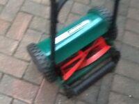 Qualcast lawnmower hand push new