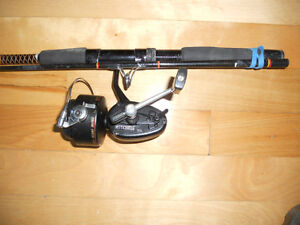 Canne moulinet Mitchell, Fishing rod and reel
