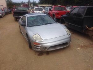 Parting out 02 Mitsubishi Eclipse!!