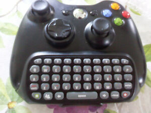 chat pad clavier POUR MANETTE xbox 360 neuf