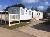 Primrose valley luxury 3 bedroom caravan for hire August