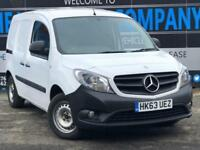 2014 63 MERCEDES-BENZ CITAN 1.5 109 LONG CDI 5D 90 BHP PANEL VAN DIESEL