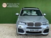 2016 BMW X3 3.0 XDRIVE30D M SPORT 5d 255 BHP Estate Diesel Automatic