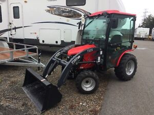 25 HP Tractor front blower Package