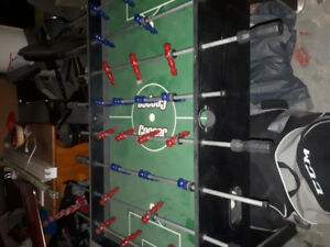 Cooper fooseball table