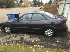 1996 Acura Integra Black Other