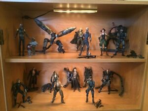 Figurines Metal gear solid 1 et 2 collection complete