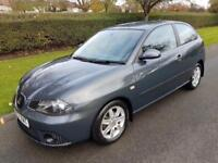 SEAT IBIZA 1.4 (16v) STYLANCE - AUTOMATIC - 3 DOOR - 2007 - GREY ** LOW MILES **