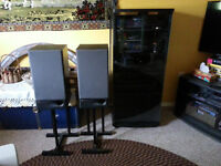 Denon Stereo Components & Mirage Speakers