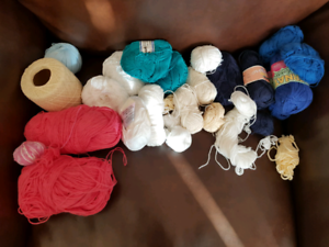 Various cotton yarn and thread