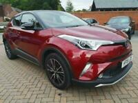 2018 18 TOYOTA CHR 1.2 RED EDITION 5D 114 BHP