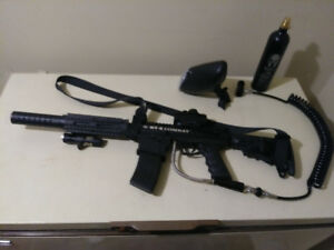 Bt-4 combat paintball gun fully accessorized $250 OBO