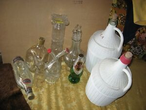 OLD BOTTLES AND JUGS $6 FOR ALL