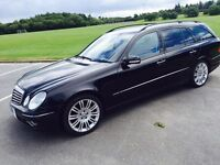 Mercedes E280 3.0 CDi Sport Estate - merc bmw audi x5 jeep ml 4x4 honda volvo v70 xc90 ford galaxy