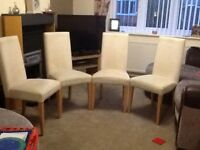 Set Of 4 Next Dining Chairs
