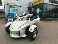 2012 Can-Am SPYDER RT Limited White Semi Auto TRIKE