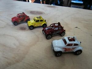 4 1983 HOT WHEEL BAJA BUG'S