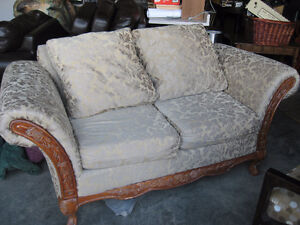 French Provincial Love Seat