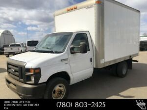 2011 Ford E-350 Cube Van 5.4 L Engine 12 Foot length cube van