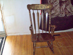 Folk Art Rocking Chair
