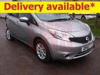 2015 Nissan Note Acenta Premium 1.2 DAMAGED REPAIRABLE SALVAGE