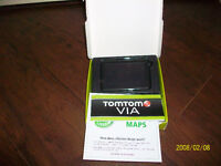 Brand new TomTom gps with lifetime maps