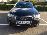 AUDI A3 SPORTBACK S TRONIC PANORAMIC ROOF SUNROOF PAN ROOF