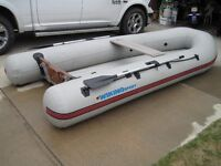12' Wiking Sport Inflatable with Yamaha 9.9 2 Stroke Outboard
