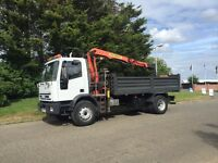 2003-52reg Iveco eurcarg I 180E24 18ton grab truck tipper free uk doorstep sameday delivery