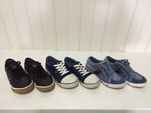 3 pairs boys Tommy Hillfiger Shoes