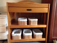 Changing table for baby solid wood