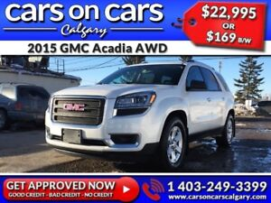 2015 GMC Acadia AWD w/Heated Seats, BackUp Cam, BlueTooth $169 B