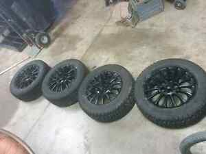 Grand AM winter tires and rims Kitchener / Waterloo Kitchener Area image 1