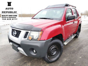 2009 Nissan Xterra, 4x4, V6, Certified, Accident Free