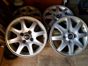Kia alloy wheels